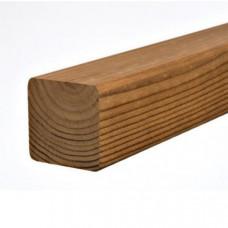 Декоративная рейка из термо сосны 20мм