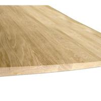 Мебельный щит из дуба (цельный) 40мм