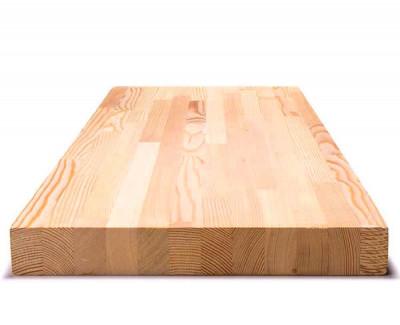 Мебельный щит из лиственницы (срощенный) 28мм