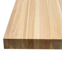 Мебельный щит из лиственницы (цельный) 28мм