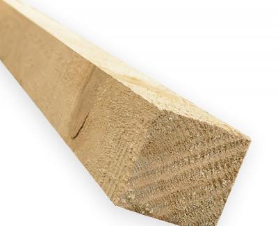Строганный брус из сосны 100мм I сорт