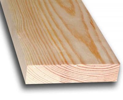 Строганная доска из лиственницы 50мм I сорт
