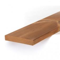 Обрезная доска из термо сосны 25мм I сорт